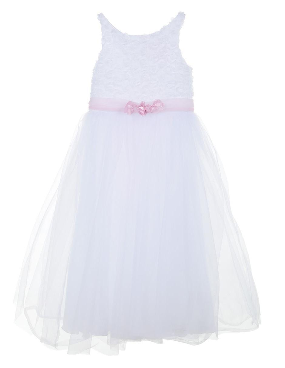 Vestido liso Barbie para niña